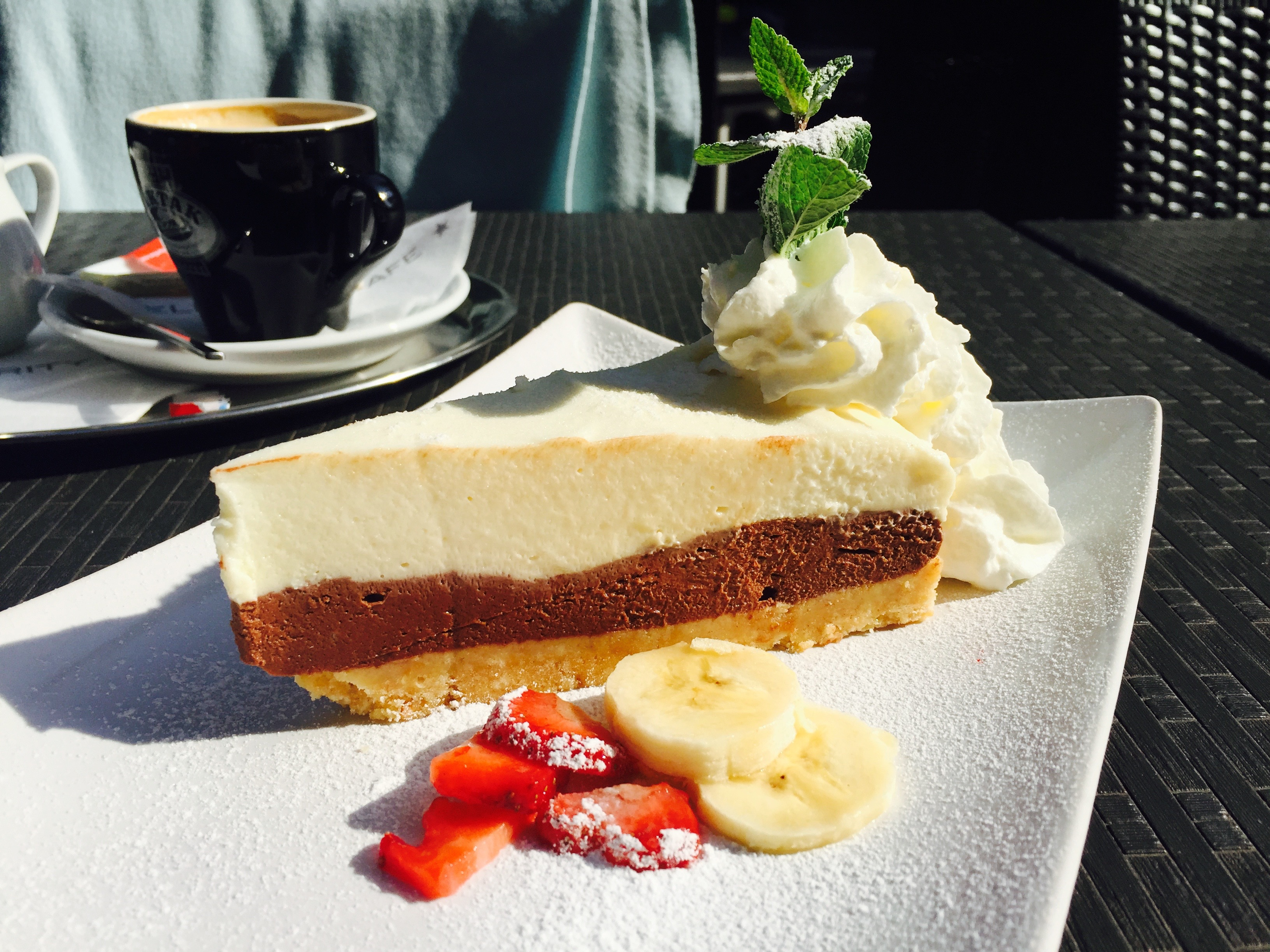 dort cheese cake a kava